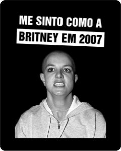 Camiseta Britney 2007