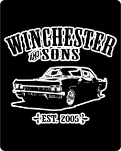 Camiseta Supernatural - Impala