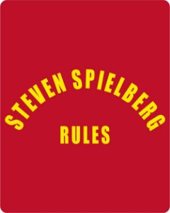 Camiseta Steven Spielberg Rules