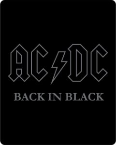 Camiseta AC/DC - Back In Black