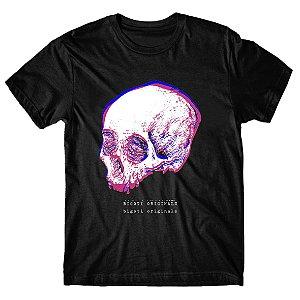 Camiseta Skull Glitch