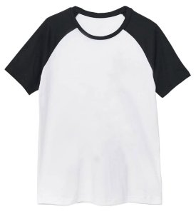 Camiseta Basic Raglan