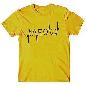 Camiseta Meow Cat