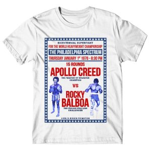 Camiseta Rocky x Apollo