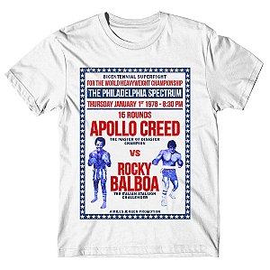 Camiseta Rocky x Apollo