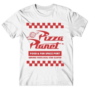 Camiseta Pizza Planet