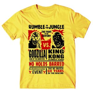 Camiseta Godzilla x King Kong