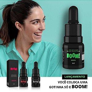 Gel Excitante Feminino Gotas Elétricas Boom Menta - 8 ml