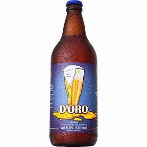 Cerveja Irmãos Ferraro D'oro 600ml