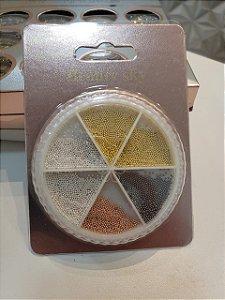 Caviar para unhas  4 cores