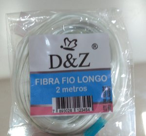 FIBRA D&Z FIO LONGO 2 METROS