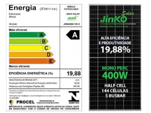 Painel Solar Jinko 400W