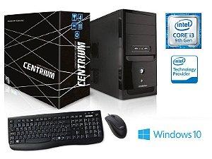 Computador Desktop Centrium - Intel Core I3-9100F 120GB SSD