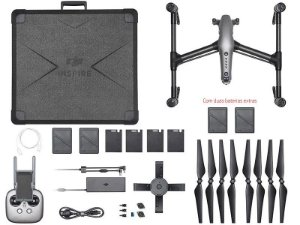 Drone Inspire 2 Combo com 2 Duas Baterias Extras