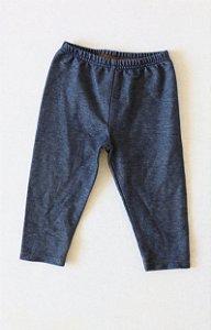 Calça Legging CHILD OF MINE com Estampa de Imitação de Jeans - 6-12 Meses