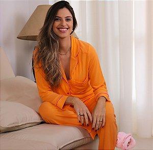 Pijama Energia Calça e Blusa de Manga Longa