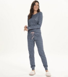 Pijama Manga Longa Bed All Day