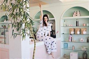 Pijama Ame Calça e Blusa de Manga Curta