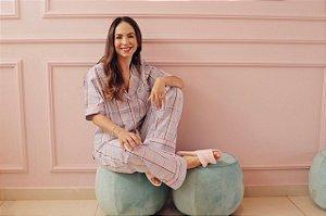Pijama Sonhe Calça e Blusa de Manga Curta