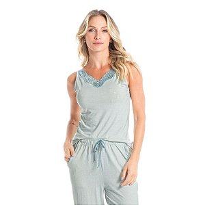 Pijama Jessica Capri Azul