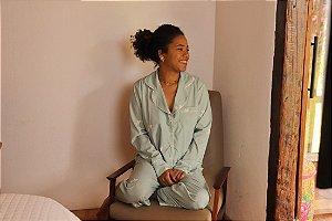 Pijama Due Amici Calça e Manga Longa