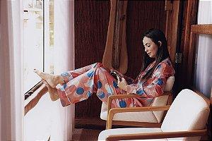 Pijama Madri Calça e Manga Longa