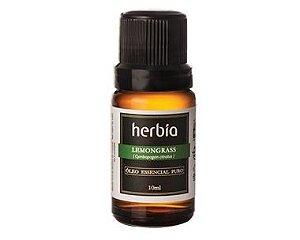 Óleo Essencial de Lemongrass (Capim-limão) 10ml | Herbia