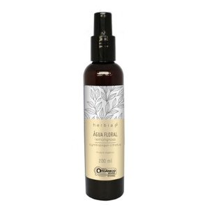 Água Floral Orgânica de Lemongrass (Capim-limão) 200ml | Herbia