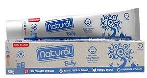 Gel Dental Natural Baby com Extratos de Banana e Erva Cidreira 50g | Natural Suavetex