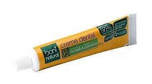 Creme dental (Hortelã e cúrcuma) 90g | Boni Natural