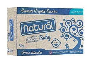 Sabonete natural Baby 80g | Natural Suavetex