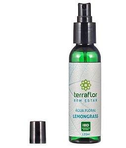Água Floral Lemongrass 120ml | Terra Flor