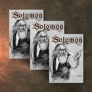 COMBO  3 HQs - O Segredo de Solomon Schwartz