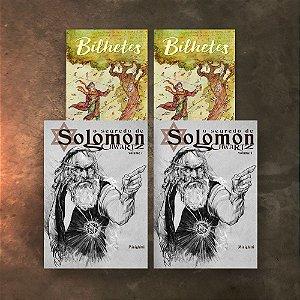 COMBO 4Hqs -  Bilhetes + O Segredo de Solomon Schwartz