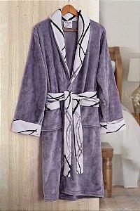 Roupão De Banho Nice Flannel Tamir