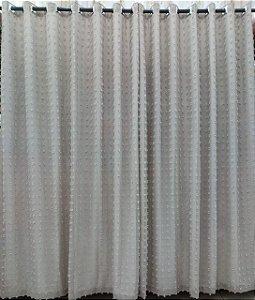CORTINA DUPLEX JOY 3,00 X 2,50 COM FORRO - AREIA