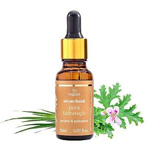 Vegana - Sérum Facial Pura Hidratação - 20ml