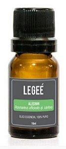 LEGEÉ- Óleo essencial de Alecrim (Rosmarinus officinalis QT Cânfora) ORGÂNICO - 10ml