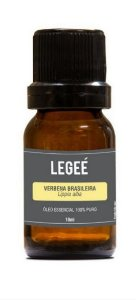 LEGEÉ- Óleo essencial de Verbena Brasileira (Lippia alba) ORGÂNICO - 10ml