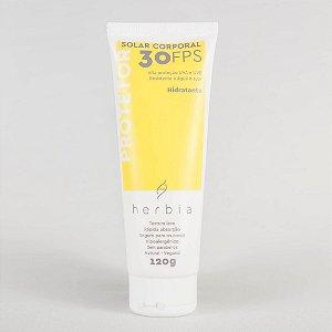 Herbia - Protetor Solar NATURAL | VEGANO | FÍSICO | Corporal FPS 30 - 120G