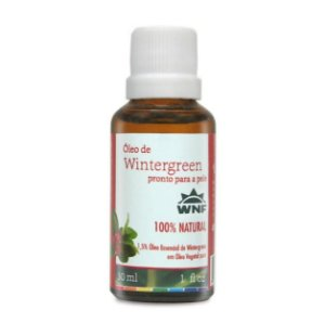 WNF - Óleo de Wintergreen pronto para pele – 30ml
