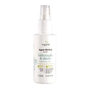 VEGANA - Água Tônica Facial Hidratação & Detox - 120ml