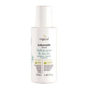 VEGANA - Sabonete Facial Hidratação & Detox - 120ml