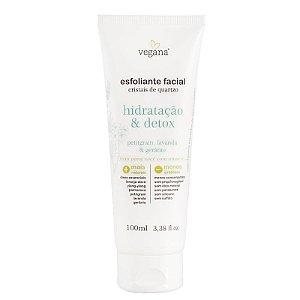 VEGANA - Esfoliante Facial Hidratação & Detox - 100ml