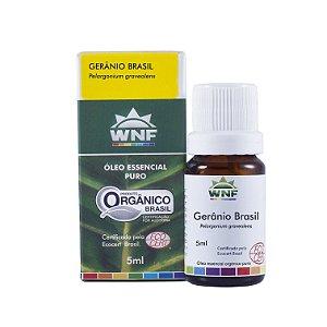 WNF - Óleo Essencial Gerânio Brasil - 5ml