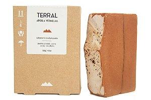 Terral Natural - Sabonete revitalizante de Argila Vermelha 130g