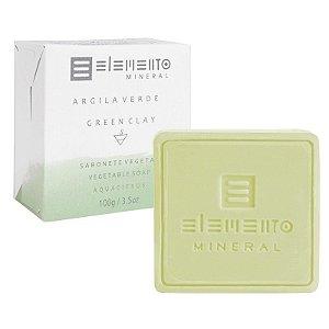 Elemento Mineral - Sabonete Argila Verde 100g