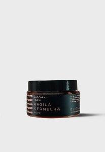 Bergamia - Máscara Facial de Argila Vermelha - 100g