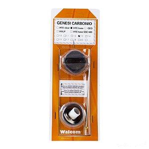 Kit ABC Genesis Carbonio 360 e Light  Hte BASE 1.3mm (bico, agulha e capa de ar) Walcom