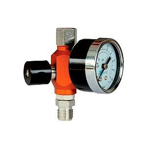 Regulador de pressão com manômetro analógico 1/4 polegadas Walcom